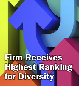 Firm Receives Highest Ranking for Diversity